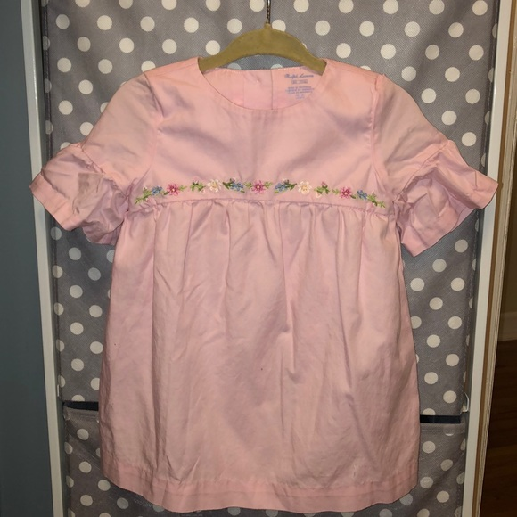 Ralph Lauren Other - Ralph Lauren Pink Baby Girl Dress